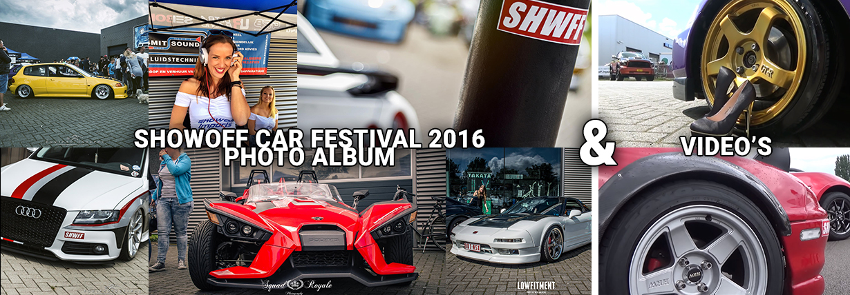 Showoff Car Festival 2016 - Photo Album & Video's